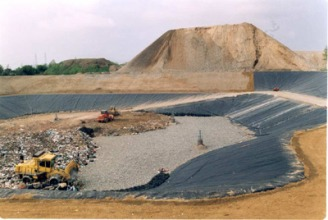 Leachate treatment for the Chivasso landfill