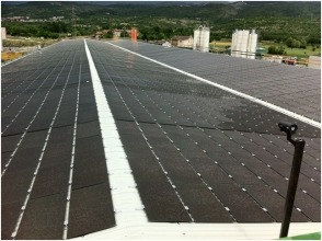 PV system with asbestos removal - L'Aquila